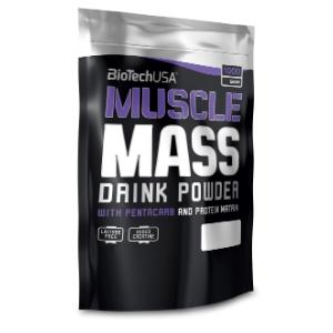BioTech USA Muscle Mass 1000 g