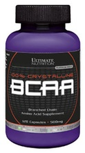 Ultimate Nutrition Branched Chain Amino Acids 500mg 120 caps