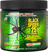 Cloma Pharma Black Spider 210g