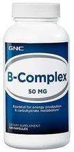 GNC B-Complex 50 100 caps