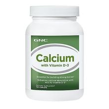 GNC Calcium plus with vitamin D3 120 tabs