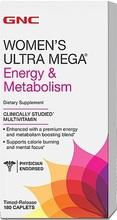 GNC Women's Ultra Mega Energy&Metabolism 180 caps