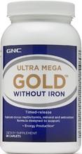 GNC Ultra Mega Gold No Iron 90 caplets