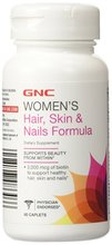 GNC Hair, Skin, & Nails Formula 60 tabs