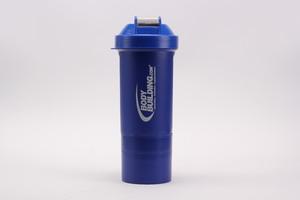 Шейкер Bodybuilding 600 ml + 2 отсека