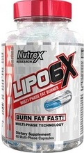 Nutrex Lipo-6X multi-phase 60 caps