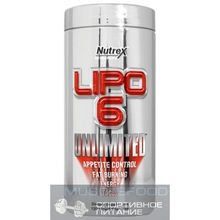 Nutrex Lipo-6 Unlimited 240 Liquid caps