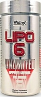 Nutrex Lipo 6 UNLIMITED 120 caps