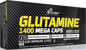 Glutamine 1400 Mega Caps (120 капс)