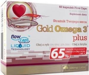 Gold Omega 3 65% plus vit. E (60 капс)