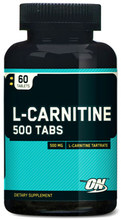 Optimum L-carnitine 500 mg 60 tablets