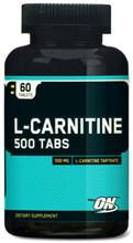Optimum L-carnitine 500 mg 60 tablets