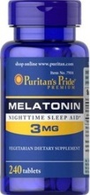 Puritan's Pride Melatonin 3 MG 240 tabs