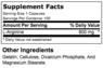 Ultimate Nutrition Arginine Power 100 caps