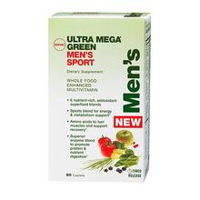 GNC Ultra Mega Green Mens Sport 60 caps
