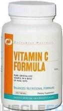 Universal Nutrition Vitamin C Formula 500 mg 100 tab