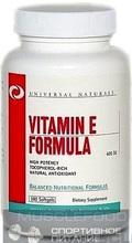 Universal Nutrition Vitamin E Formula 100 caps