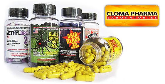 Cloma Pharma Asia Black 100 caps